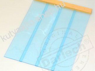 Kutyaajtó átlátszó PVC szalagból